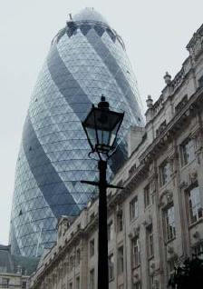 30 St Mary Axe or The Gherkin as it is better known